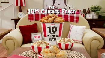 KFC 10-Piece Chicken Feast TV Spot, 'Festín de pollo' [Spanish] - Thumbnail 2