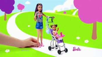 Barbie Skipper Babysitter Inc Stroller and Potty Training Playsets TV Spot, 'Stroll to the Park' - Thumbnail 1