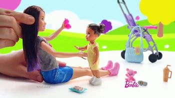 Barbie Skipper Babysitter Inc Stroller and Potty Training Playsets TV Spot, 'Stroll to the Park' - Thumbnail 3