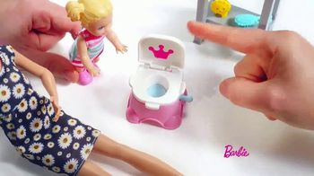 Barbie Skipper Babysitter Inc Stroller and Potty Training Playsets TV Spot, 'Stroll to the Park' - Thumbnail 6