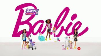 Barbie Skipper Babysitter Inc Stroller and Potty Training Playsets TV Spot, 'Stroll to the Park' - Thumbnail 8