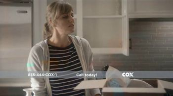 Cox Communications High Speed Internet TV Spot, \'Moving\'