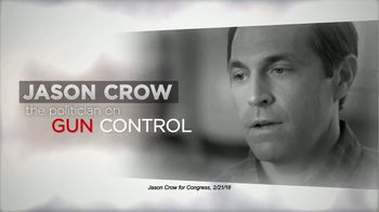 NRCC TV Spot, 'Jason Crow on Gun Control' - Thumbnail 1