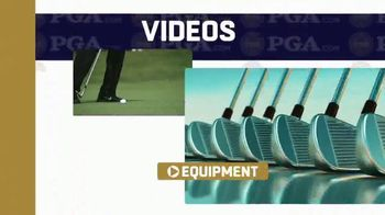 PGA.com TV Spot, 'Videos, Equipment and Merchandise' - 1 commercial airings