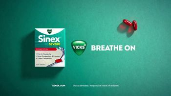 Vicks Sinex Severe TV Spot, 'Breathe Freely Fast' - Thumbnail 10