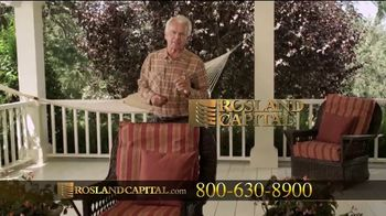 Rosland Capital TV Spot, 'Take a Look at This Tree: $1,000 Discount' Featuring William Devane - Thumbnail 6