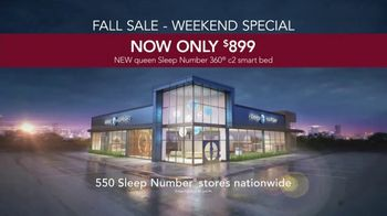 Sleep Number Fall Sale Weekend Special TV Spot, '360 c2 Smart Bed' - Thumbnail 7