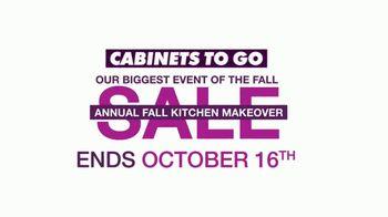 Cabinets To Go Annual Fall Kitchen Makeover Sale TV Spot, 'Dream Kitchen'