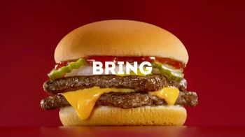 Wendy's 4 for $4 TV Spot, 'Tackle Hunger' - Thumbnail 6