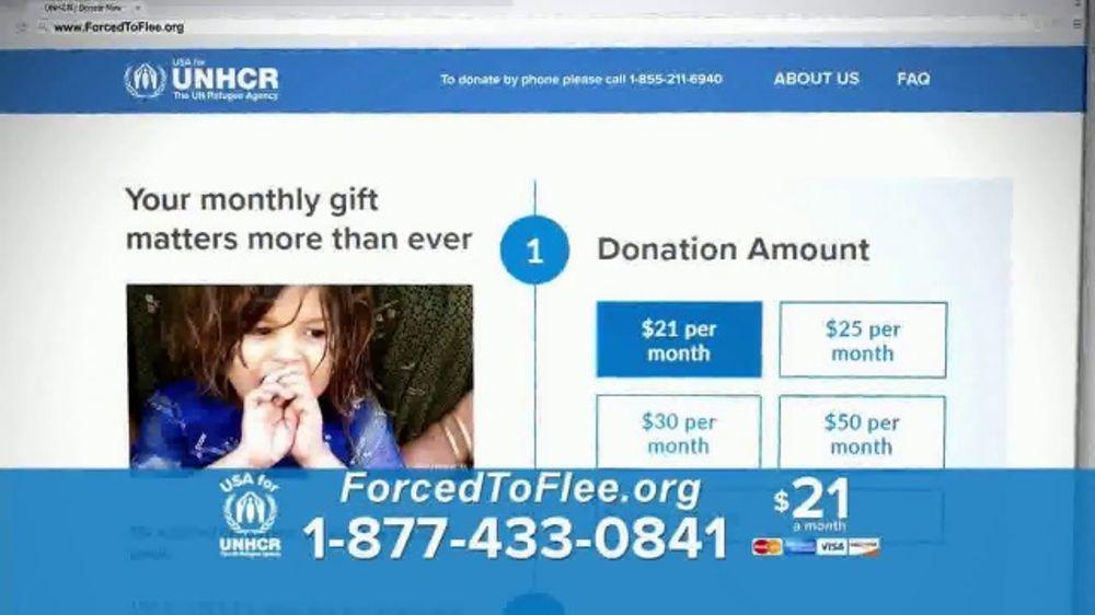 USA for UNHCR TV Commercial, 'Escaping War'
