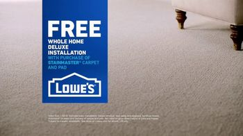 Lowe's TV Spot, 'The Moment: Old Carpet: Deluxe Installation' - Thumbnail 8
