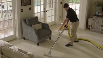 Stanley Steemer TV Spot, 'Dirt, Dust and Allergens: Three Rooms'