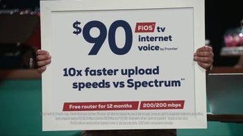 FiOS by Frontier TV Spot, 'Dream Job: $90' - Thumbnail 9