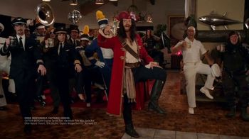 Captain Morgan TV Spot, 'House Party: Sea Creature' Featuring Adam Devine - Thumbnail 9