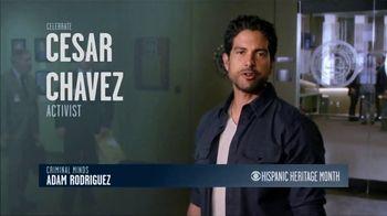 CBS Cares TV Spot, 'Hispanic Heritage Month: Chavez' Featuring Adam Rodriguez