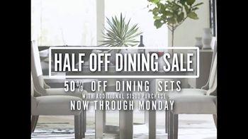 Bassett Half Off Dining Sale TV Spot, 'Start the Season' - Thumbnail 2