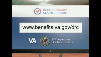 U.S. Department of Veteran Affairs TV Spot, 'Decision Ready Claim' - Thumbnail 10
