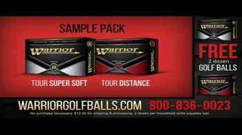 Warrior Custom Golf TV Spot, 'Exclusive Golf Balls' - Thumbnail 2
