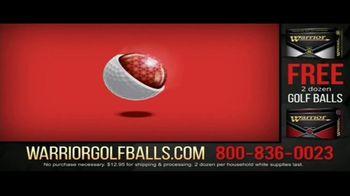Warrior Custom Golf TV Spot, 'Exclusive Golf Balls' - Thumbnail 4