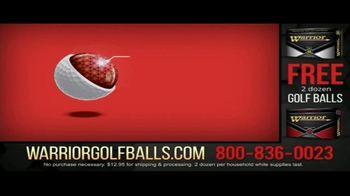 Warrior Custom Golf TV Spot, 'Exclusive Golf Balls' - Thumbnail 5