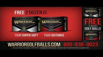 Warrior Custom Golf TV Spot, 'Exclusive Golf Balls' - Thumbnail 7
