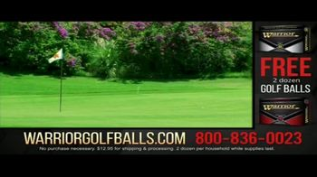 Warrior Custom Golf TV Spot, 'Exclusive Golf Balls' - Thumbnail 8