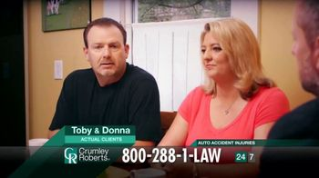 Crumley Roberts TV Spot, 'Donna and Toby' - Thumbnail 3