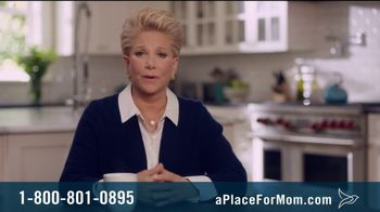 A Place For Mom TV Spot, \'Memory Care\' Featuring Joan Lunden
