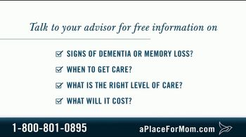 A Place For Mom TV Spot, 'Memory Care' Featuring Joan Lunden - Thumbnail 8