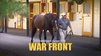 Claiborne Farm TV Spot, 'War Front 2018'