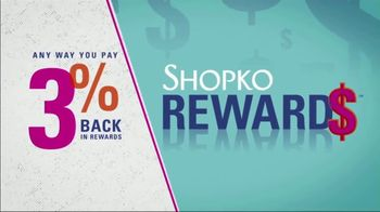 Shopko Lower Than Our Lowest Price Sale TV Spot, \'Snacks and Water\'