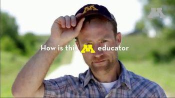 University of Minnesota TV Spot, 'A New Set of Online Learning Tools for Minnesota's Farmers'