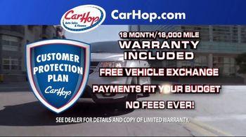 CarHop Auto Sales & Finance TV Spot, 'No Fees Ever: $250 Down' - Thumbnail 3