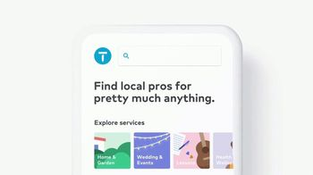 Thumbtack TV Spot, 'Find Local Pros'
