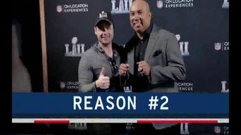 NFL On Location TV Spot, 'Reasons: Super Bowl LIII' - Thumbnail 4