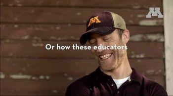 University of Minnesota TV Spot, 'Bringing Discovery to Minnesota's Doorstep' - Thumbnail 4