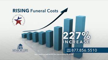 Senior Life Insurance Company Senior Life Plan TV Spot, 'Rising Funeral Cost'