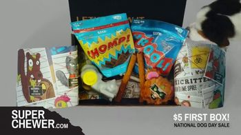 BarkBox National Dog Day Sale TV Spot, 'Super Chewer: $5 First Box' - Thumbnail 9