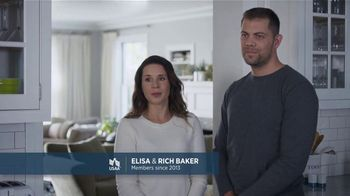 USAA TV Spot, \'USAA Members for Life: The Baker Family\'