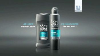 Dove Men+Care Antiperspirant TV Spot, 'Protects Differently' - Thumbnail 10