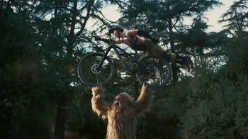 Jack Link's Beef Jerky TV Spot, 'Runnin' With Sasquatch: Mountain Biking'
