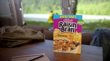 Kellogg's Raisin Bran With Bananas TV Spot, 'Aggressive Yellow' Song by Rusted Root - Thumbnail 9