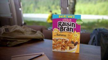 Kellogg's Raisin Bran With Bananas TV Spot, 'Aggressive Yellow' Song by Rusted Root - Thumbnail 9