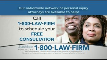 1-800-LAW-FIRM TV Spot, 'Injured in an Accident?' - Thumbnail 4