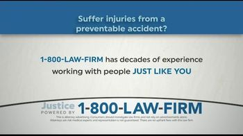 1-800-LAW-FIRM TV Spot, 'Injured in an Accident?' - Thumbnail 1