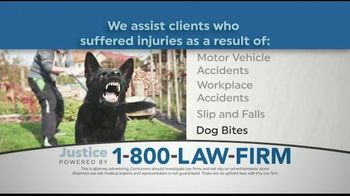 1-800-LAW-FIRM TV Spot, 'Injured in an Accident?' - Thumbnail 3