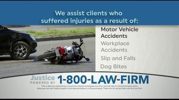 1-800-LAW-FIRM TV Spot, 'Injured in an Accident?'