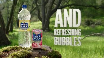Deer Park Sparkling Water TV Spot, 'Just What's Refreshingly Real' - Thumbnail 10