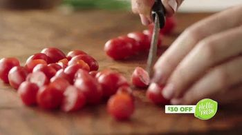 HelloFresh TV Spot, 'Fresh Ingredients' - Thumbnail 4