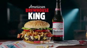 Burger King American Brewhouse King TV Spot, \'Speaks American\'